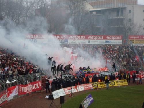 Smoke at the game!